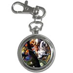 Dragon and Gothic Mistress on Unicorn Key Chain Watch