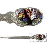 Dragon and Gothic Mistress on Unicorn Letter Opener
