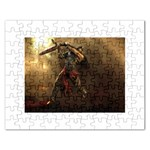 Goth Dracula Vampire and Rising Dead Jigsaw Puzzle (Rectangular)