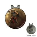 Goth Dracula Vampire and Rising Dead Golf Ball Marker Hat Clip
