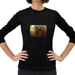 Goth Dracula Vampire and Rising Dead Women s Long Sleeve Dark T-Shirt