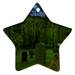Gothic Fantasy Graveyard Ornament (Star)