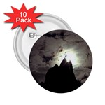 Gothic Mountain Setting Sun 2.25  Button (10 pack)