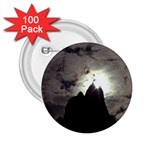 Gothic Mountain Setting Sun 2.25  Button (100 pack)