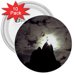 Gothic Mountain Setting Sun 3  Button (10 pack)