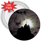 Gothic Mountain Setting Sun 3  Button (100 pack)
