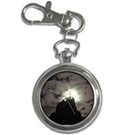 Gothic Mountain Setting Sun Key Chain Watch