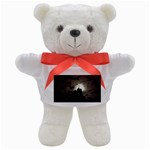 Gothic Mountain Setting Sun Teddy Bear