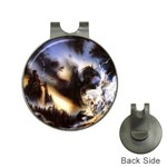 Gothic Unicorn Dark Storm Golf Ball Marker Hat Clip
