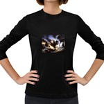 Gothic Unicorn Dark Storm Women s Long Sleeve Dark T-Shirt