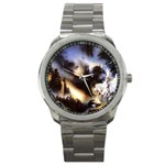 Gothic Unicorn Dark Storm Sport Metal Watch