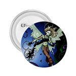 Purple Night Elf Fairy 2.25  Button
