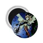 Purple Night Elf Fairy 2.25  Magnet