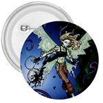 Purple Night Elf Fairy 3  Button