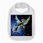 Purple Night Elf Fairy Bib