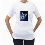 Purple Night Elf Fairy Women s T-Shirt