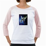 Purple Night Elf Fairy Girly Raglan