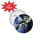 Purple Night Elf Fairy 1.75  Button (10 pack)