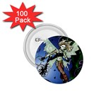 Purple Night Elf Fairy 1.75  Button (100 pack)
