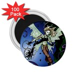 Purple Night Elf Fairy 2.25  Magnet (100 pack)