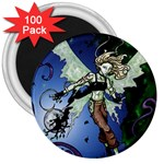 Purple Night Elf Fairy 3  Magnet (100 pack)