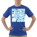 Bubbly Blues Men s T-shirt (Colored)