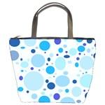 Bubbly Blues Bucket Handbag