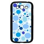 Bubbly Blues Samsung Galaxy Grand DUOS I9082 Case (Black)