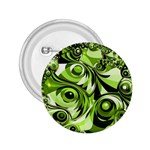 Retro Green Abstract 2.25  Button