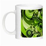 Retro Green Abstract Glow in the Dark Mug