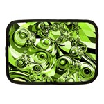 Retro Green Abstract Netbook Sleeve (Medium)