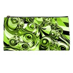 Retro Green Abstract Pencil Case