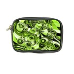 Retro Green Abstract Coin Purse