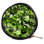 Retro Green Abstract Mini Makeup Case