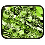 Retro Green Abstract Netbook Sleeve (XL)