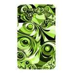 Retro Green Abstract Memory Card Reader (Rectangular)