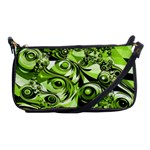 Retro Green Abstract Evening Bag