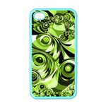 Retro Green Abstract Apple iPhone 4 Case (Color)