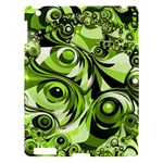 Retro Green Abstract Apple iPad 3/4 Hardshell Case