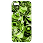 Retro Green Abstract Apple iPhone 5 Hardshell Case