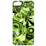 Retro Green Abstract Apple iPhone 5 Classic Hardshell Case