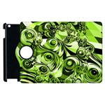 Retro Green Abstract Apple iPad 3/4 Flip 360 Case