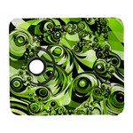 Retro Green Abstract Samsung Galaxy S  III Flip 360 Case