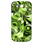 Retro Green Abstract Samsung Galaxy S3 S III Classic Hardshell Back Case