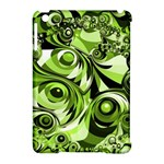 Retro Green Abstract Apple iPad Mini Hardshell Case (Compatible with Smart Cover)