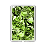 Retro Green Abstract Apple iPad Mini 2 Case (White)