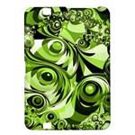 Retro Green Abstract Kindle Fire HD 8.9  Hardshell Case
