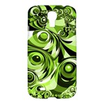 Retro Green Abstract Samsung Galaxy S4 I9500/I9505 Hardshell Case
