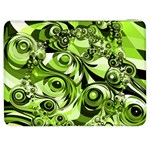 Retro Green Abstract Samsung Galaxy Tab 7  P1000 Flip Case