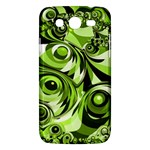 Retro Green Abstract Samsung Galaxy Mega 5.8 I9152 Hardshell Case